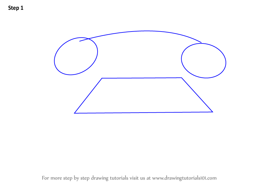 Draw Two Ovals And One Hexagon Join With A Curve Line