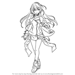 How to Draw Kokone from Vocaloid