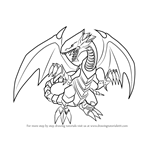 How to Draw Blue-Eyes White Dragon from Yu-Gi-Oh! Official Card Game