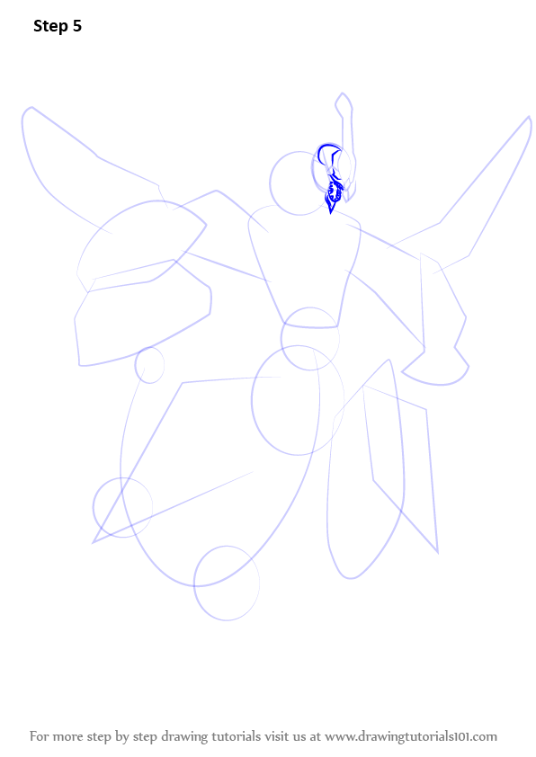 Learn how to draw clear wing synchro dragon from yu gi oh for Ro draw