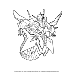 How to Draw Clear Wing Synchro Dragon from Yu-Gi-Oh! Official Card Game