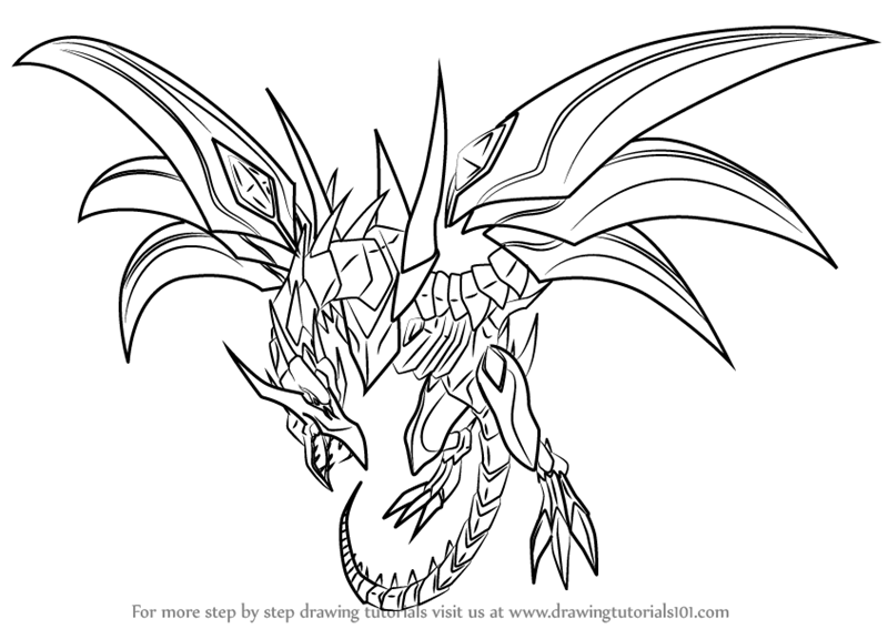 Learn how to draw red eyes black dragon from yu gi oh official how to draw red eyes black dragon from yu gi oh official card game ccuart Gallery