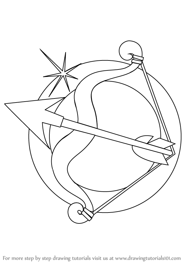 sagittarius coloring pages - photo #36