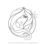 How to Draw Virgo Zodiac Sign