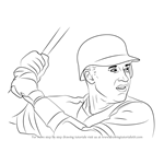 How to Draw Derek Jeter