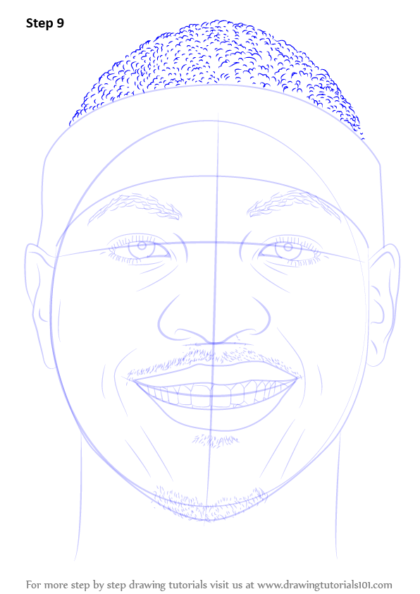 learn how to draw carmelo anthony  basketball players