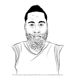 How to Draw James Harden