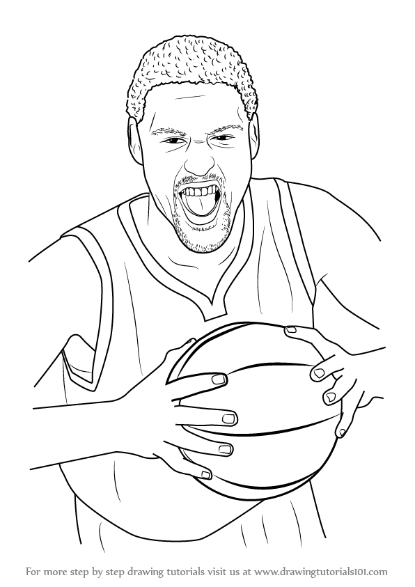 Cartoon Basketball Players Coloring Pages on 2016 audi s6 review