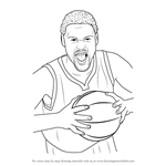How to Draw Klay Thompson