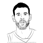How to Draw Marc Gasol