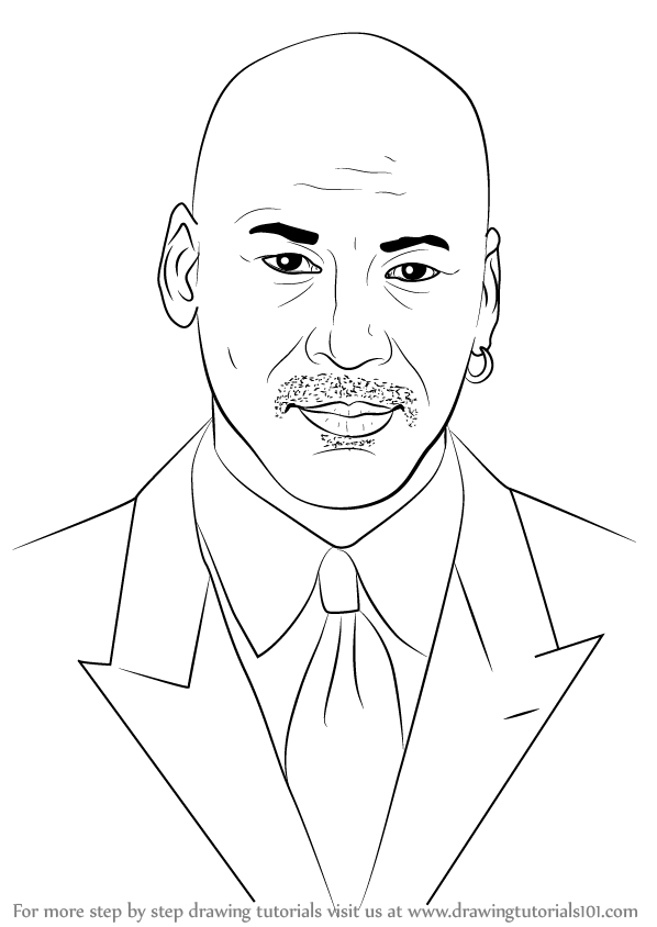 How To Draw Michael Jordan