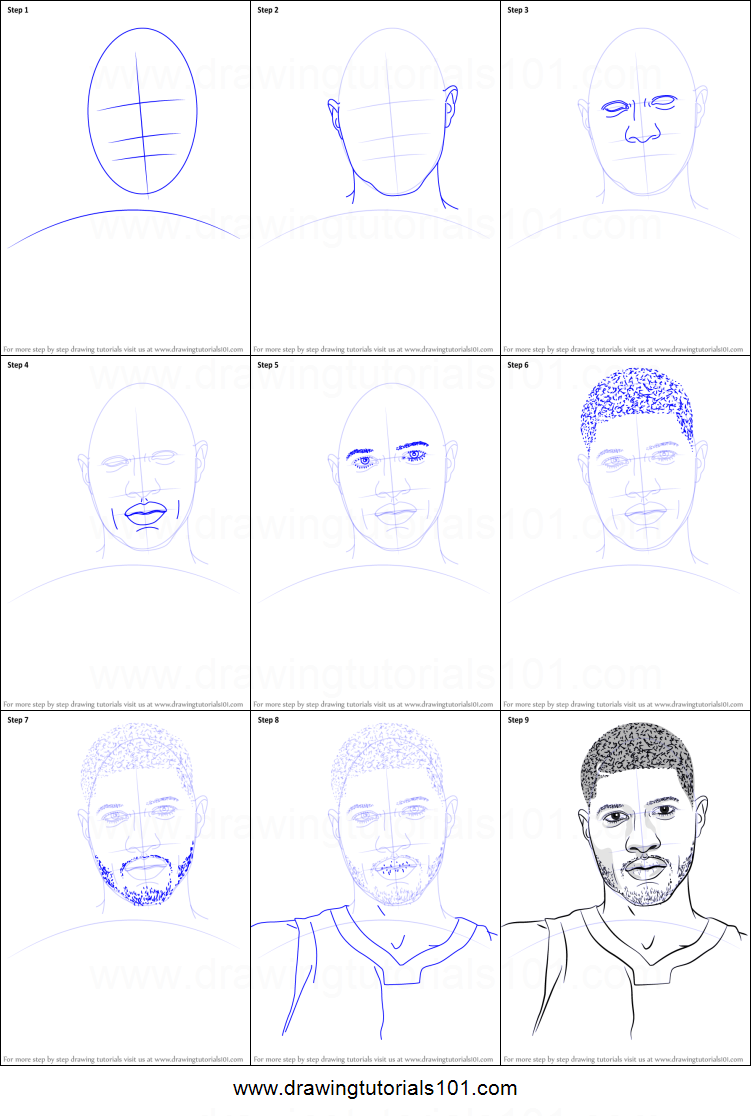 How to Draw Paul Gee printable