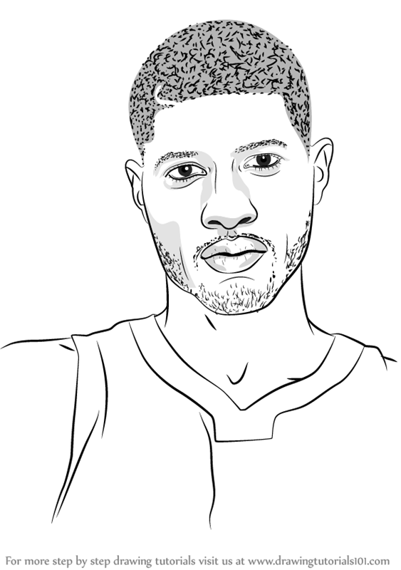 Learn How to Draw Paul Gee Basketball Players Step by