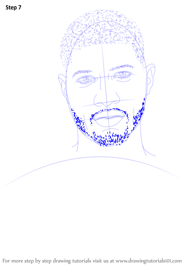 Learn How to Draw Paul George (Basketball Players) Step by ... | 594 x 844 png 62kB
