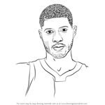 How to Draw Paul George