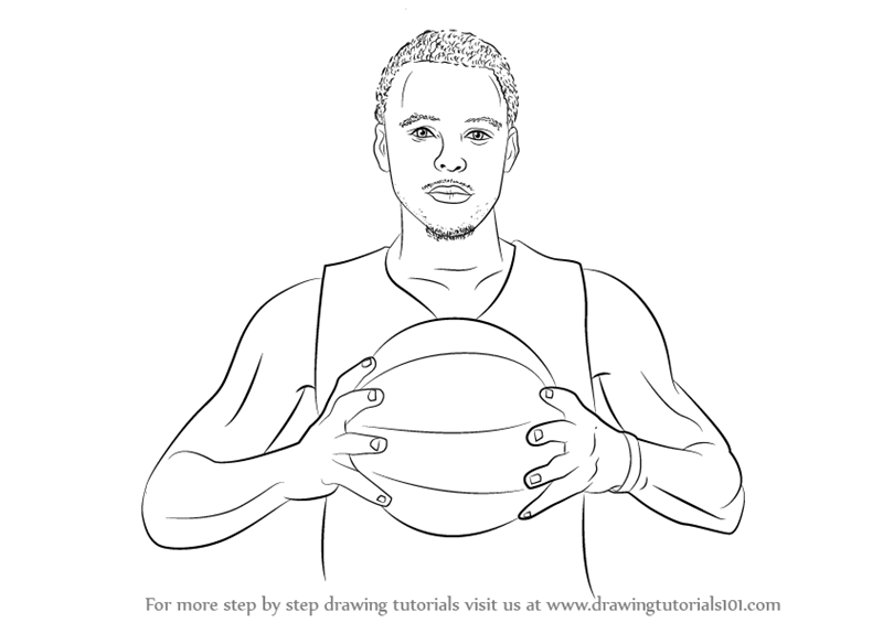 Stephen Curry Coloring Pages Coloring
