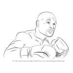 How to Draw Floyd Mayweather