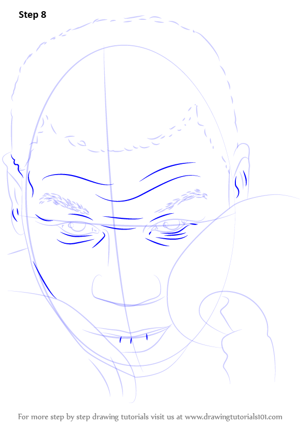 Learn How To Draw Mike Tyson Boxers Step By Step