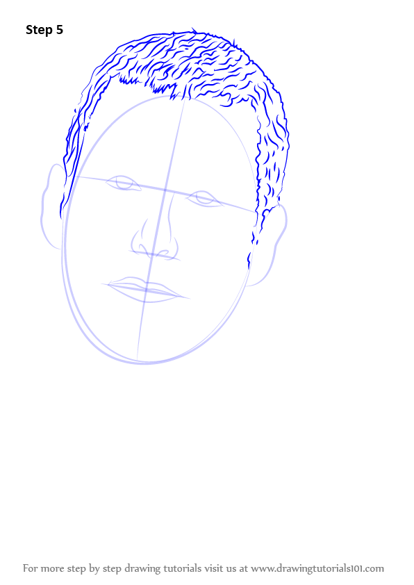 Learn How To Draw Adam Sandler (Celebrities) Step By Step