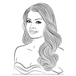 How to Draw Aishwarya Rai