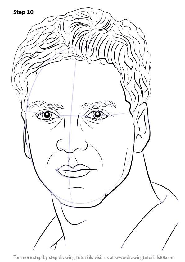 Learn How To Draw Akshay Kumar Celebrities Step By Step Drawing Tutorials