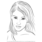 How to Draw Amy Jo Johnson
