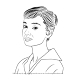 How to Draw Audrey Hepburn