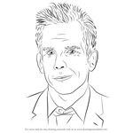 How to Draw Ben Stiller
