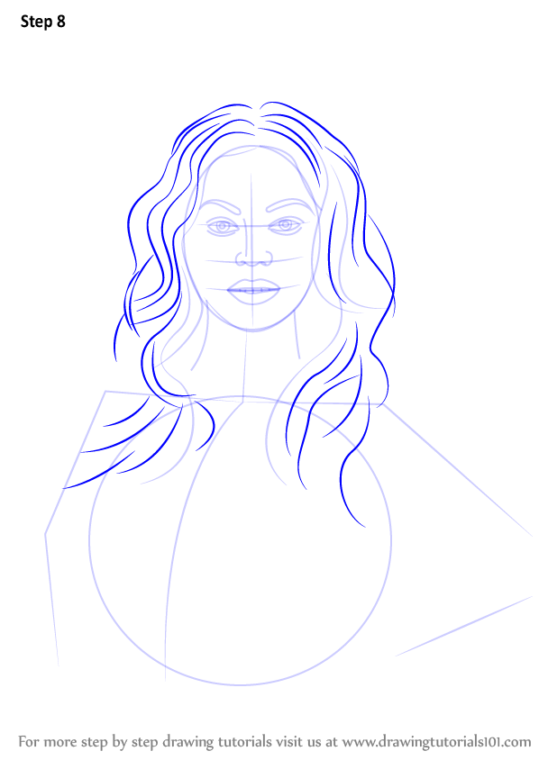 beyonce drawing step by step - photo #7