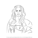 How to Draw Beyonce