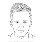 How to Draw Brooklyn Beckham