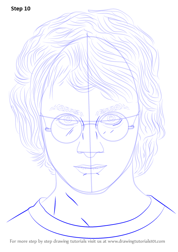 Learn How To Draw Daniel Radcliffe Celebrities Step By