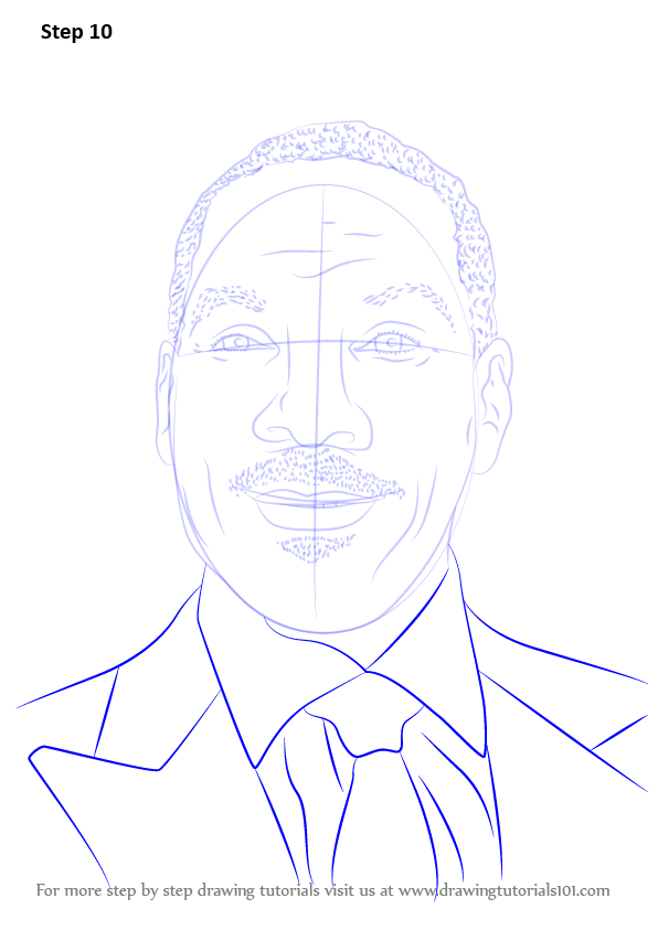 learn how to draw eddie murphy  celebrities  step by step