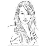 How to Draw Hilary Duff