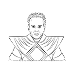 How to Draw Jason David Frank