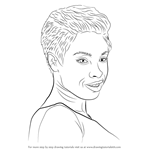 How to Draw Jennifer Hudson