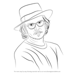 How to Draw Johnny Depp