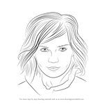 How to Draw Kirsten Dunst