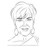 How to Draw Kris Jenner