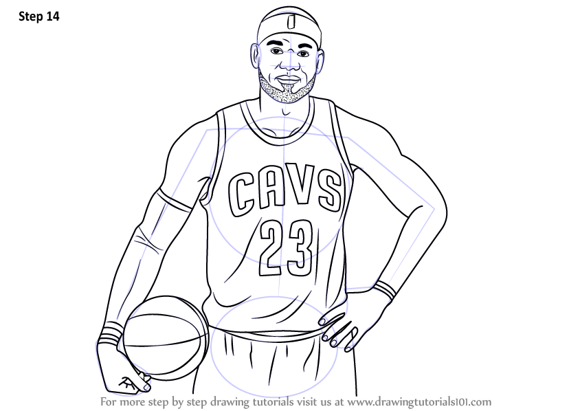 Learn How to Draw LeBron James