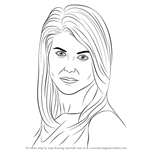How to Draw Lori Loughlin