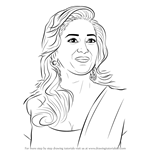 How to Draw Madhuri Dixit