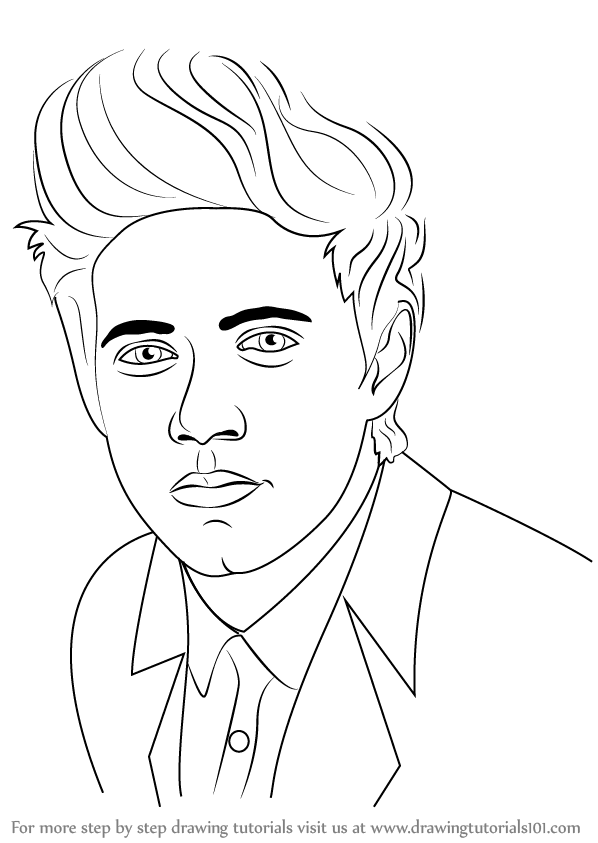 Learn How to Draw Niall Horan (Celebrities) Step by Step ...