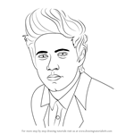 How to Draw Niall Horan
