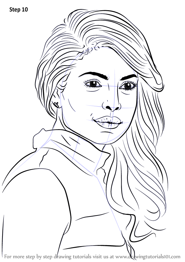 Learn How To Draw Priyanka Chopra Celebrities Step By