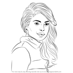 How to Draw Priyanka Chopra