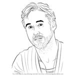 How to Draw Ryan Gosling