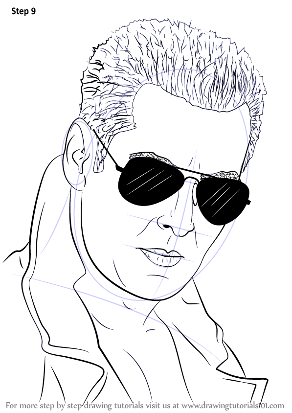 Learn How to Draw Salman Khan Celebrities