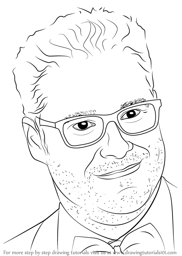 Learn How To Draw Seth Rogen Celebrities Step By Step