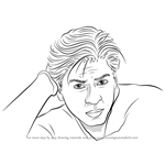 How to Draw Shahrukh Khan